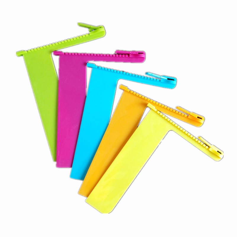 1Pc Creative Zipper Shape Bookmark Book Marker Reading Bookmarks Book Holder Gift Stationery