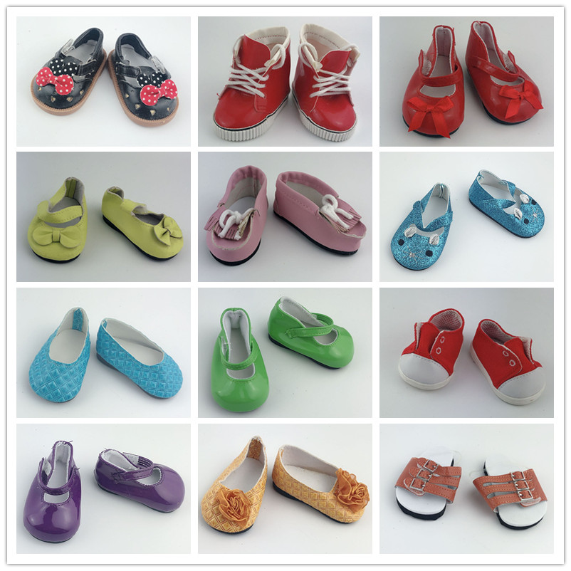 15style Doll Shoes Wear Fit 43cm/17inch Baby Doll, Children Best Birthday Gift(only Sell Shoes)