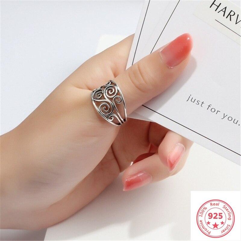 925 Silver Color Ring For Women 100% Real Dainty S925 Silver Bizuteria Wedding Anillos De Gemstone Fine Jewelry Ring Box