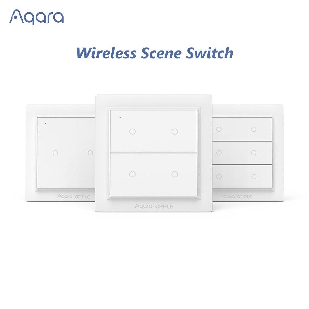 Original Aqara Opple Wireless Scene Switch Wall Light Switch Zigbee 3.0 Lamp Controller Remote Control Smart Home