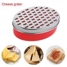 Ralador de queijo slicer legumes eficientes caixa oval de aço inoxidável recipiente frutas rápido fácil limpo ralador multifuncional