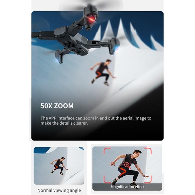 Teeggi SG701 SG701S GPS RC Drone with 5G WiFi FPV 4K HD Camera Quadcopter Optical Flow Foldable Mini Dron VS E520S SG907 F3 S167 5