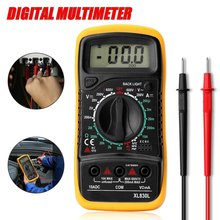 ZEAST Portable Electrical Digital Multimeter Backlight AC DC Ammeter Voltmeter Ohm Tester Meter Handheld LCD Voltmeter Volt(China)