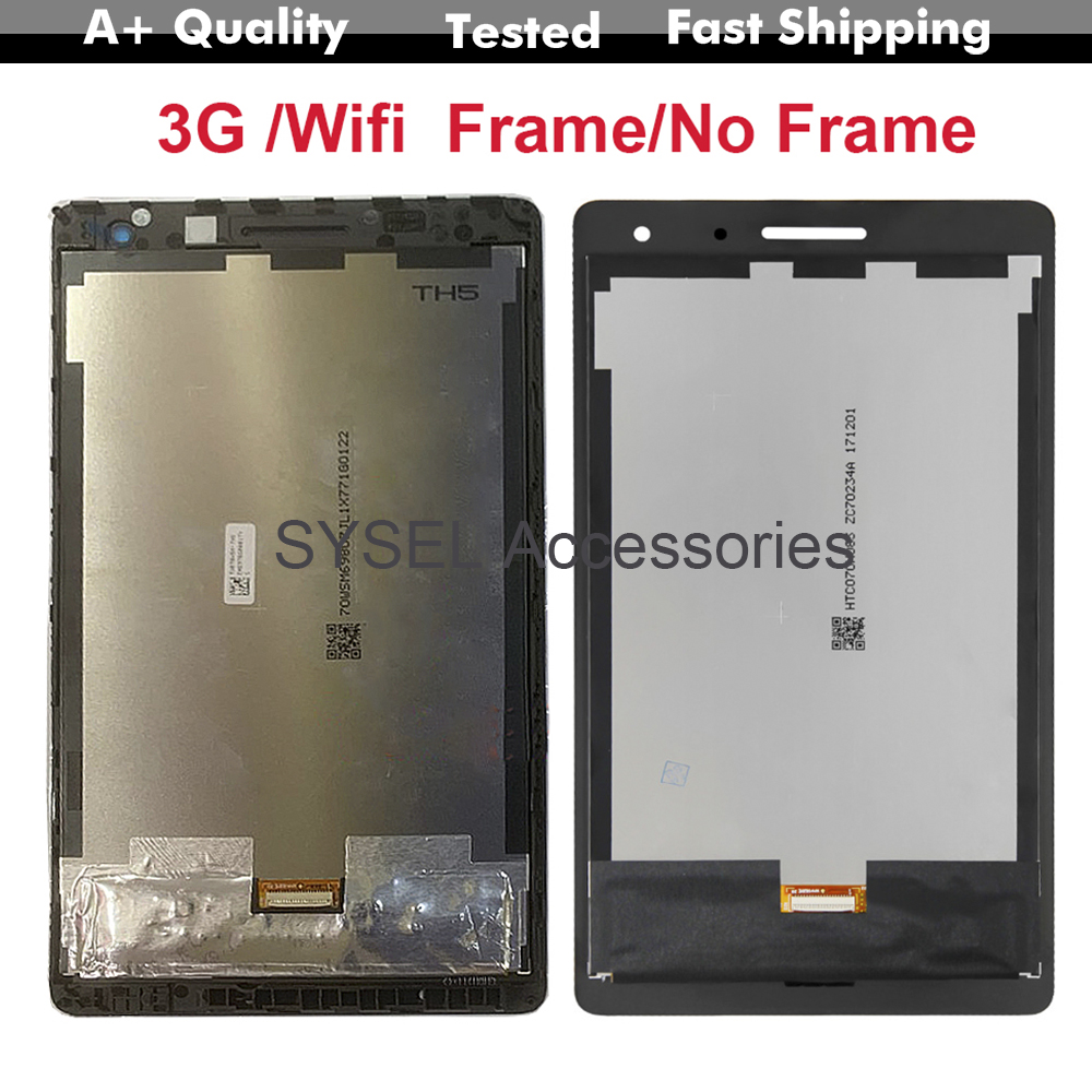 Lcd For Huawei-Mediapad T3 7.0 Lcd BG2-W09 BG2-U01 BG2-U03 Lcd Display Touch Screen Digitizer Assembly With Frame LCD