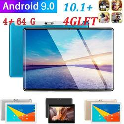 10.1 WIFI/4G-LTE Metalen Tablet Android 9.0 Pad 2.5D HD Screen 4 64G Dual Camera