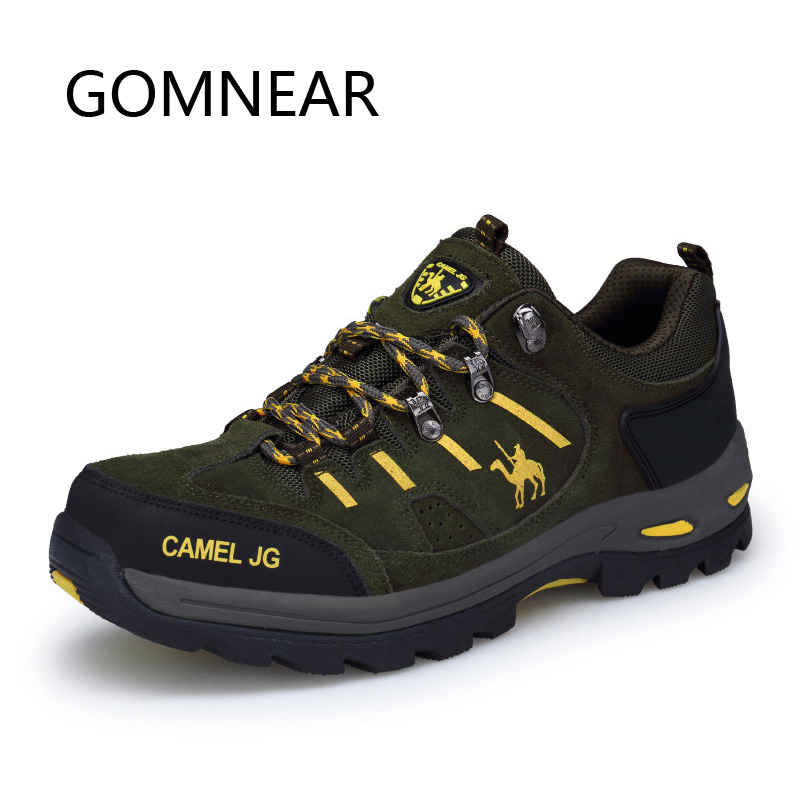 GOMNEAR Men Women Winter Hiking Shoes Outdoor Sneakers Mountain Trekking Shoes Breathable Climbing Shoes Camping Hunting Boots|Hiking Shoes| |  - title=