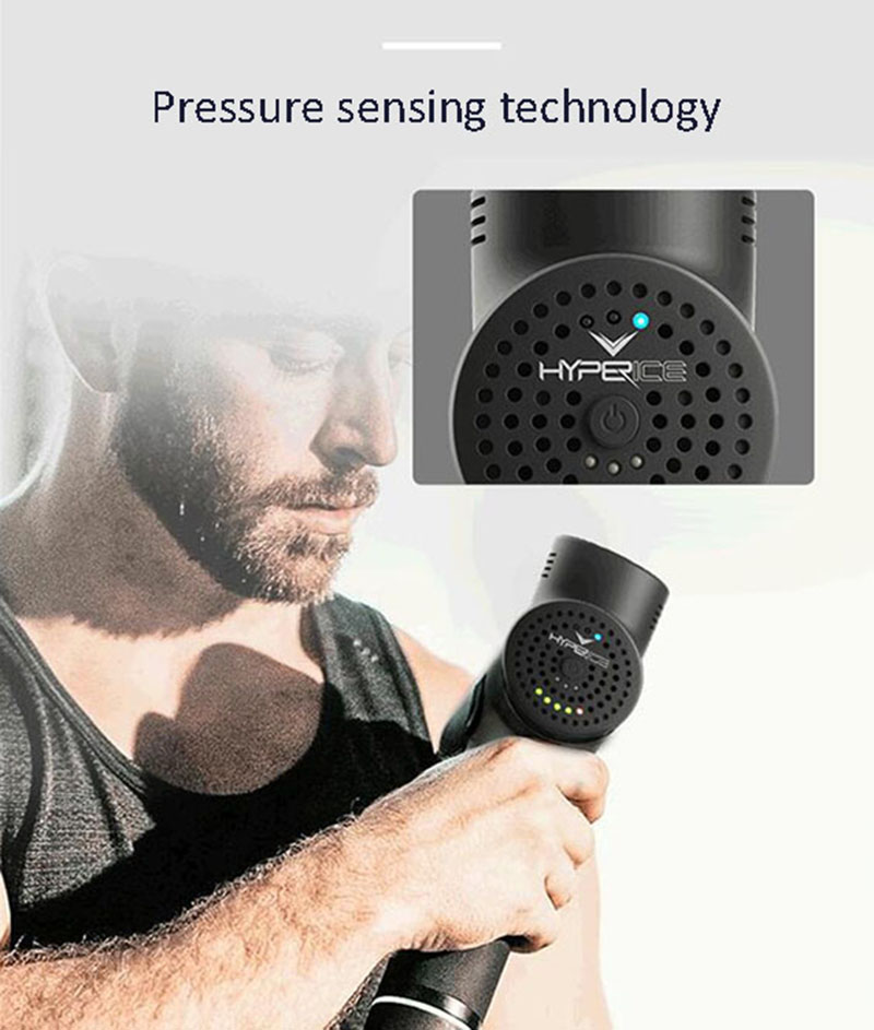 Hyperice Hypervolt Plus Portable Massage Device Massage Gun Deep Tissue Percussion Muscle Massager Handheld Electric Body - 6