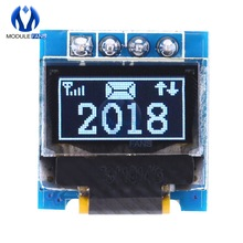 Display-Module Screen-I2c OLED SSD1306 Arduino 64x32 STM32 64--32 White IIC for AVR Super-Bright