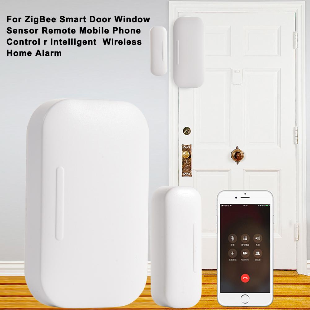 For ZigBee Smart Door Window Sensor Remote Mobile Phone Control R Intelligent Wireless Home Alarm