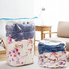Storage-Bag Jackets Wardrobe Vacuum Foldable Organizer Sealed Dust-Cover Compression