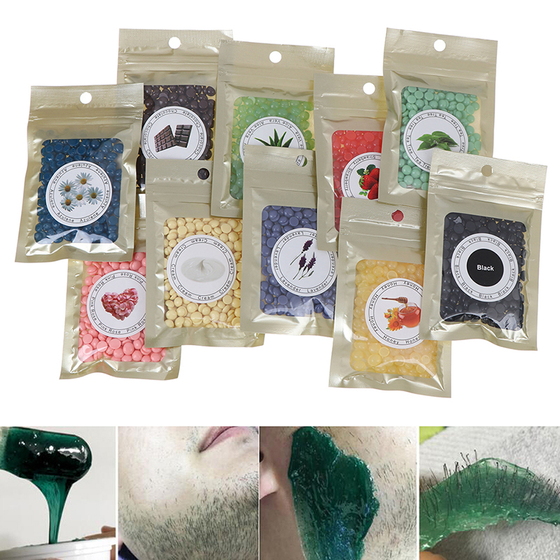 For All Types Skin Beauty 100% Brand New 1 Bag Depilatory Wax 25g Hot Film Hard Wax Beans Pellet Waxing Bikini Hair Removal Bean
