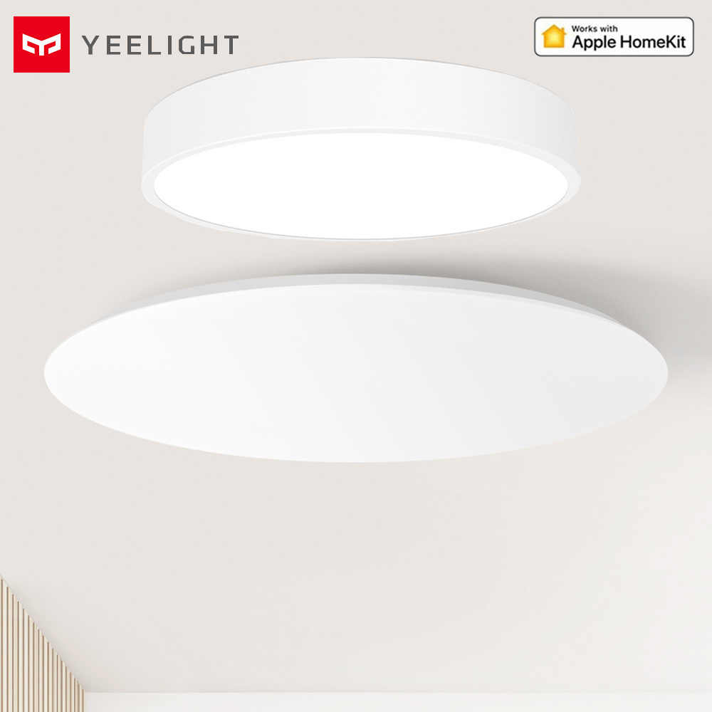 Homekit Version! Yeelight mis à jour JIAOYUE 320 480 Smart LED plafonnier éclairage intérieur 28w 32w Support lampe de commande vocale