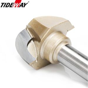 Image 2 - Tideway Woodworking Round Cove Bit Tungsten Carbide Professional Grade Router Bits for Wood 1/2 1/4 Inch Shank Milling Cutter