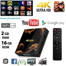 HK1 LITE 4K IPTV TV BOX Android 9.0 WIFI Set Top Box Wireless Smart TV Iptv Europe Smart Tv Box 4K TV Receivers Support TF Cards(China)