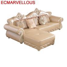 Divano Armut Para Sala Puff Asiento Mobili Per La Casa Koltuk Takimi European Mobilya Set Living Room Furniture Mueble Sofa