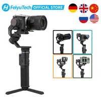 FeiyuTech Feiyu G6 Max 3-Axis estabilizador de mano de cámara Gimbal para cámara de bolsillo sin espejo GoPro Hero 7 6 5 Smartphone