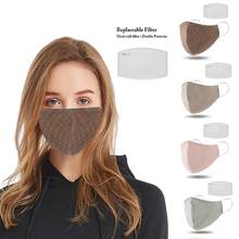 Washable Spring Winter 3D Maska Cotton Thin Personality 3D Maska Men Women Dustproof Earloop Face Mouth Masker with 1 Filter(China)