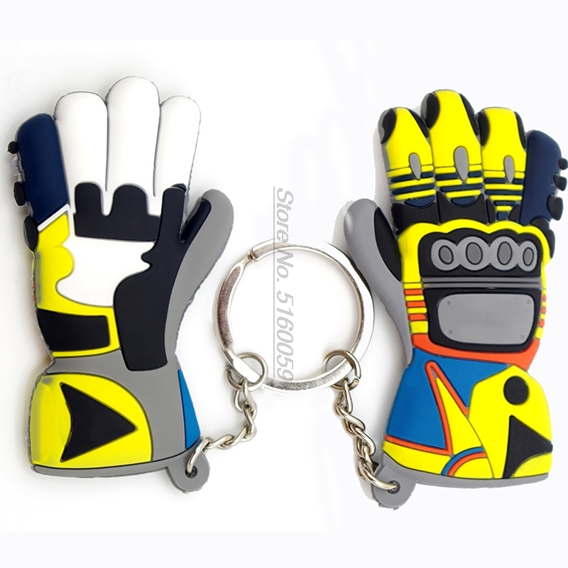 2020 Motorcycle Gloves Motorcycle Guantes Moto Gloves Key Ring For Valentino Rossi Motorbike Motocross Motorcycle Gloves