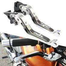 купить For KTM 200 125 Duke 2014 2015 2016 2017 390Duke 2013-2017 CNC Adjustable Folding Extendable Brake Clutch Levers Motorcycle по цене 1880.99 рублей