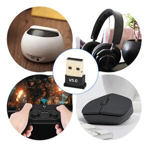Беспроводной USB Bluetooth 5,0 адаптер передатчик музыкальный приемник Мини BT5.0 донгл аудио адаптер для компьютера ПК ноутбука планшета