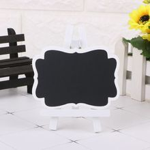 Mini Wooden Chalkboard Blackboard…