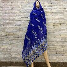 Nowa 2019 muzułmańska chusta na głowę owinięta głową typu afrykański szalik damski w stylu mozaiki