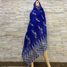 The new 2019 Muslim headscarves wrapped head type African womens fashion outdoor scarf scarf Mosaic style