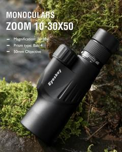 Image 2 - Монокуляр Eyeskey 10 30x50 Bak4 Prism, мощный телескоп, Монокуляр, водонепроницаемые Охотничьи товары для кемпинга со штативом