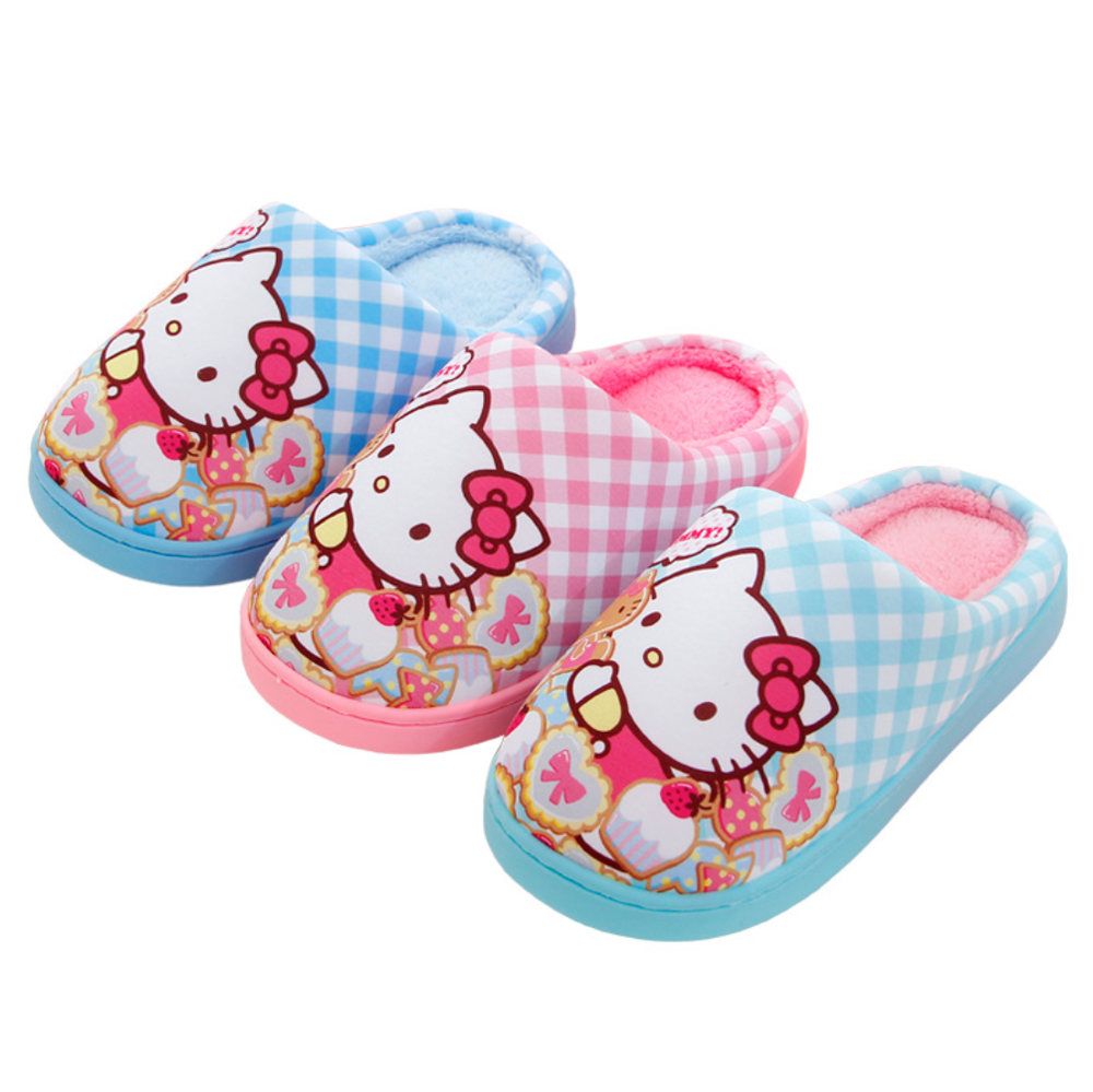 Hello Kitty Woman Cotton Slippers Cute Sandals Slippers Your Furry Slippers Home Slippers Flip-flops Slide Pretty Women Shoes