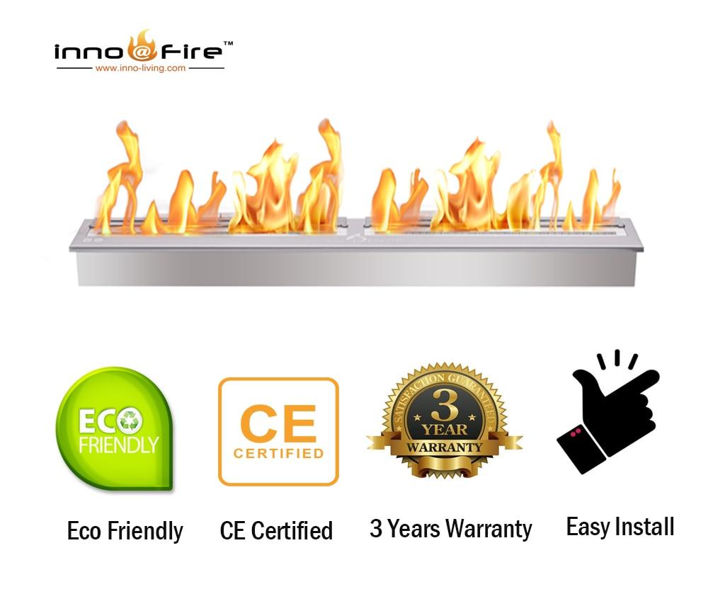 Inno Living Fire  36 Inch Cheminee Bio Ethanol Bio Fuel Fire Places