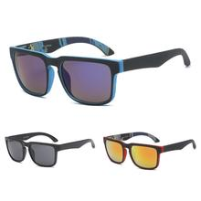 Men's Colorful Reflective Sunglasses Outdoor Bicycle Riding Sunglasses