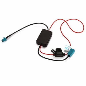 Image 2 - Auto Antenne Fm Radio Signal Verstärker Antenne ANT 208 Fm Radio Signal Verstärker Für Stecker