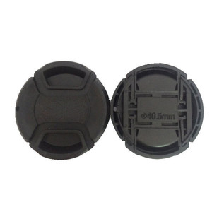 Image 1 - 30pcs/lot 40.5mm 49mm 55mm center pinch Snap on cap cover for Sony camera Lens