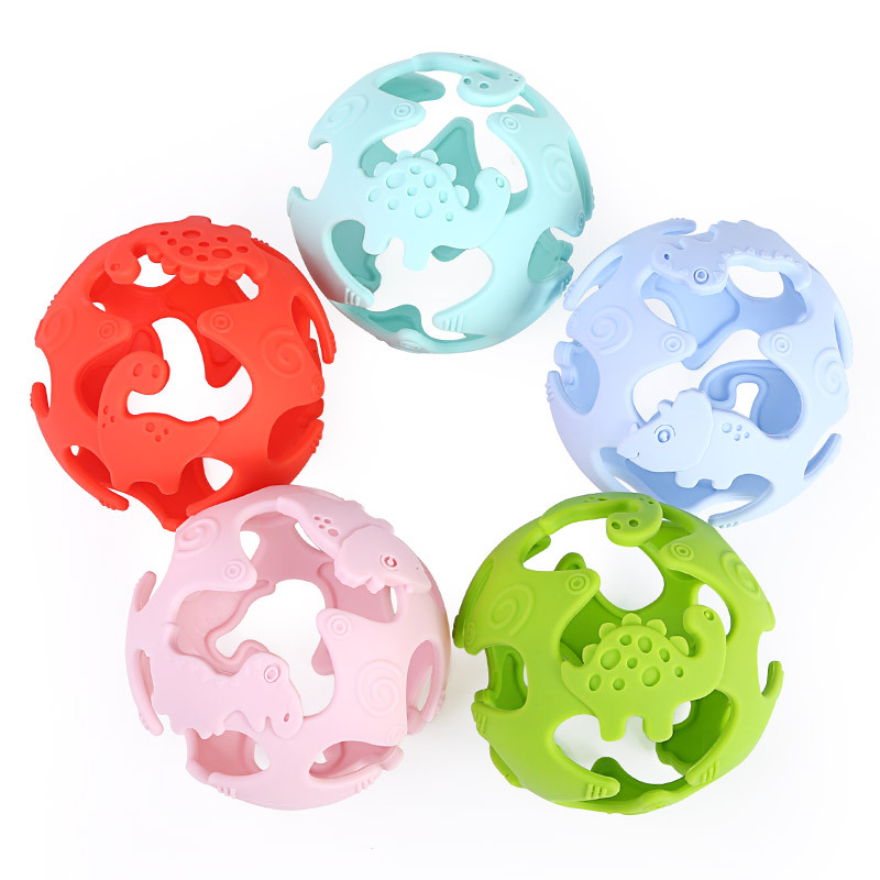Silicone Baby Butterfly 3D Teething Toy Food Grade Teether Grind Babys Teeth