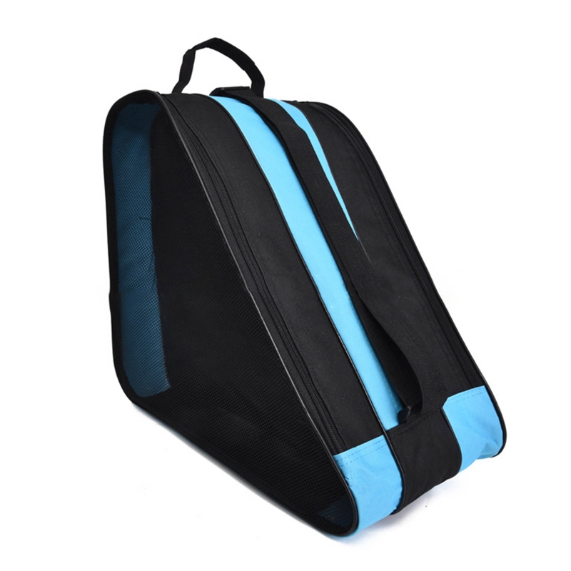 Portable Children Roller Skates Thickened Single/Double Shoulder Backpack Sports W0YB