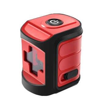 Hohe präzision Rot/Blau Laser Level Mini 2 Linie Laser Selbst nivellierung horizontale und Vertikale Lazer Bau Werkzeuge nivel Laser