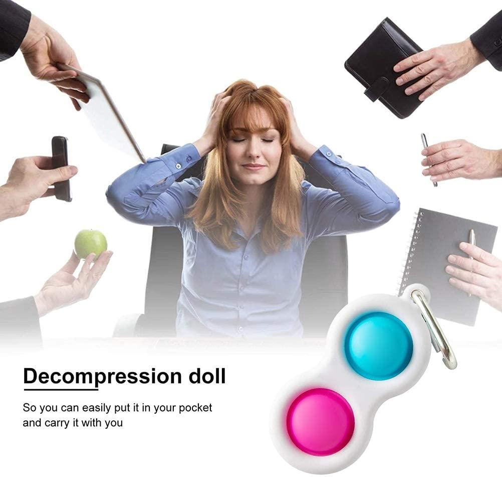 Popit Toy Fidget-Toys Squeeze-Fidget Stress Relief Push Bubble Simple Dimple Relieve-Stress img4