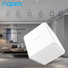 Aqara Cube Controller Zigbee Gateway Intelligent Linkage Control 6 Actions Magic Smart Switch Work for Xiaomi Mijia APP