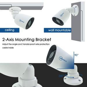 Image 4 - MOVOLS 8CH 4K Ultra HDกล้องวงจรปิดระบบกล้องH.265กล้องวงจรปิดชุด8MP DVRกลางแจ้งกันน้ำการเฝ้าระวังวิดีโอความปลอดภัยระบบ