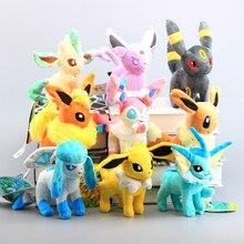 9 стильная стойка плюшевые игрушки Sylveon Umbreon Иви особенности Вапореон Flareon плюшевые игрушки животных мягкие куклы подарок для детей