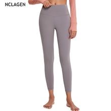 NCLAGEN Yoga Pants Women Gym High Waist Sport Leggings Workout Tight Running Butt Lifting Squat Proof Elastic Fitness Capris