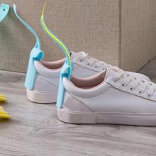 Leniwy pomocnik do butów przenośny Носок ползунок obsługiwane łyżka do butów pomocnik do podnoszenia butów łatwe zakładanie i zdejmowanie butów solidna pomoc poślizgowa nowość #5 tanie tanio Lazy Shoes Helper