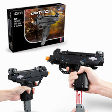 359 шт., Детский конструктор UZI micro submachine gun 98K