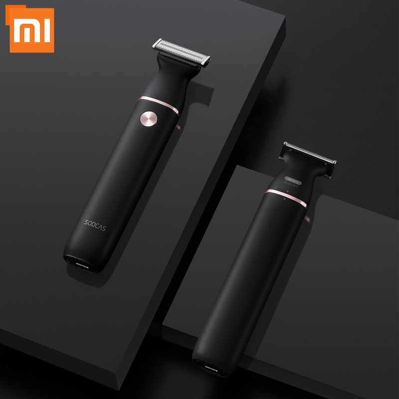 Xiaomi SOOCAS Electric Razor Small T-Blade Black Three-way Blade Fast Shaving Charge Dry And Wet Double Shaving Shaver For Men