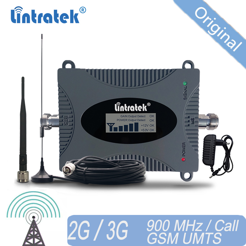 Lintratek 900 GSM Signal Booster Cellular Repeater 900mhz 65dB Cell Phone Signal Amplifier Amplificador For Europe Asia 20