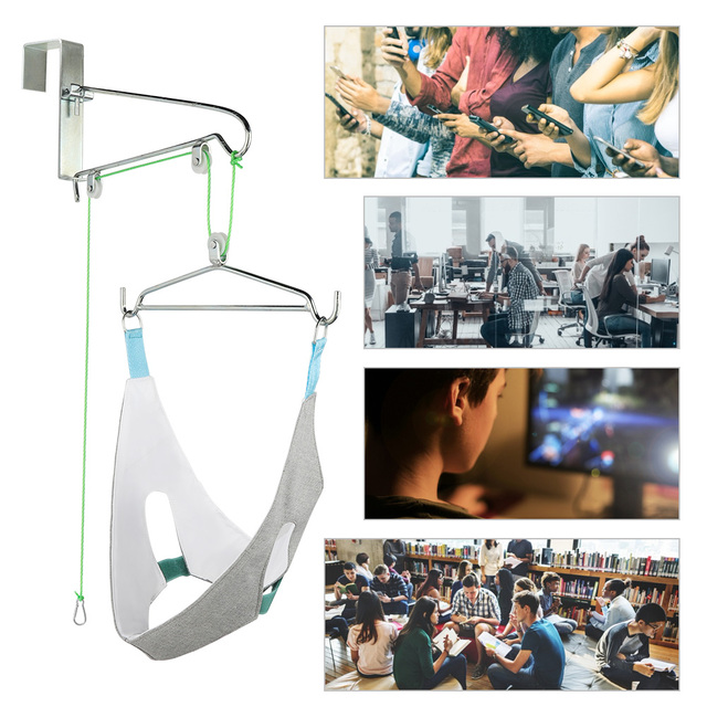 Hanging Neck Traction Device Home Stretching Medical Cervical Spondylosis Treatment Orthosis Tractor Frame Health Care