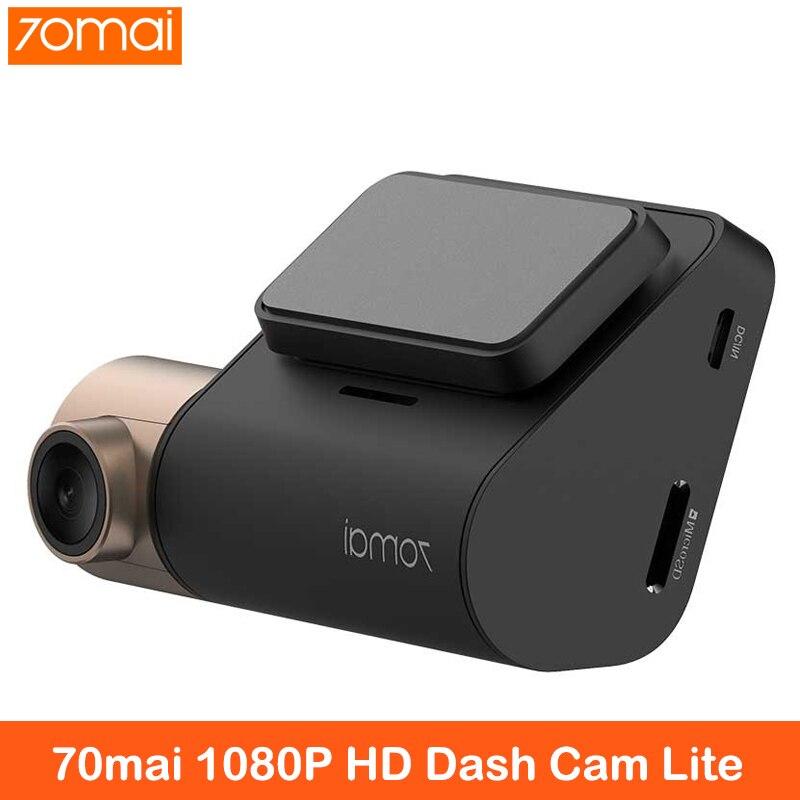 70mai Dash Cam Lite SONY сенсор 1080P HD ночное видение 70 MAI Автомобильный видеорегистратор 70mai 24H парковочный монитор Автомобильный видеорегистратор wifi а...