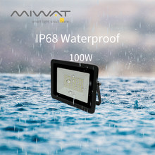 110V/220V LED Flood Light 10W 20W 30W 50W 100W Floodlights Searching Lamp Wall Reflector IP68 Outdoor Garden Lighting Spotlight(China)