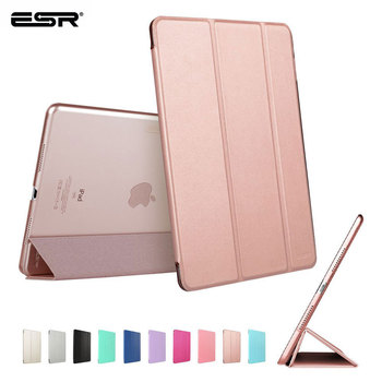 ESR Case for iPad Pro 9.7 inch Smart Cover with Trifold Stand Magnetic Auto Wake Tablet Case for iPad Pro 9.7 inch 2016 Release case for ipad pro 9 7 inch esr slim fit shell case [soft tpu bumper corner] back cover for ipad pro 9 7 inches 2016 release