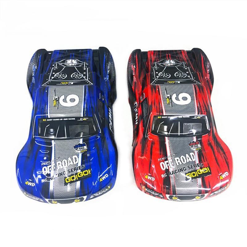 RCtown Plastic PVC Car Shell Surface Body M0280 For 1/10 HQ 727 4X4 Traxxas SCX10 Slash Case Nonete Control Toys Spare Parts 4.0